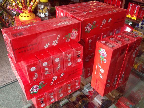 上海 红牡丹,烟草