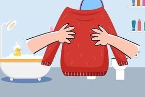 羊毛衫缩水了